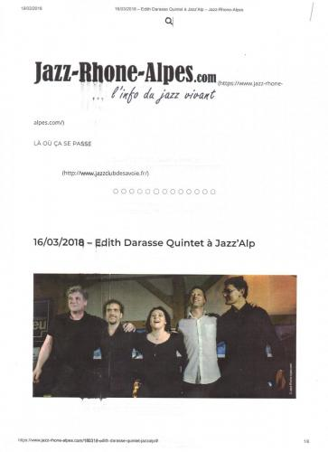 Article Over TB  jazz'Alp  1 001